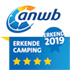 Panorama camping Colmont ANWB erkend 2019